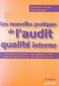 Couverture d'ouvrage: Les nouvelles pratiques de l'audit qualité interne