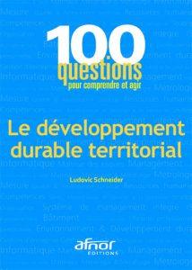 Couverture d'ouvrage: Le développement durable territorial