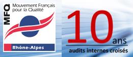 13/10/2016 : Les 10 ans du Club audits internes croisés du MFQ Rhône-Alpes