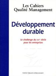Couverture d'ouvrage: Développement durable