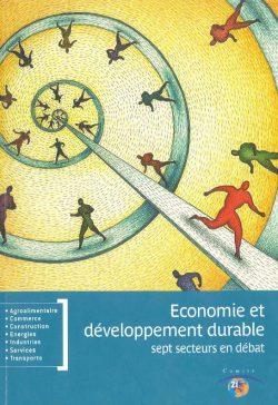 Couverture d'ouvrage: Economie et Développement Durable