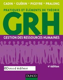 Couverture d'ouvrage: Gestion des ressources humaines