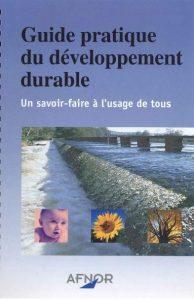 Couverture d'ouvrage: Guide pratique du développement durable