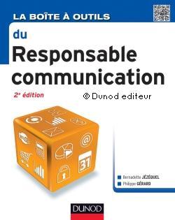 Couverture d'ouvrage: La boite à outils du responsable communication 2ème édition