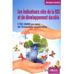 Couverture d'ouvrage: Les indicateurs clés de la RSE et du développement durable