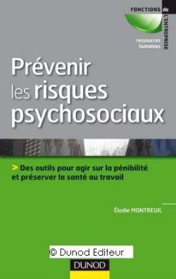 Couverture d'ouvrage: Prévenir les risques psychosociaux