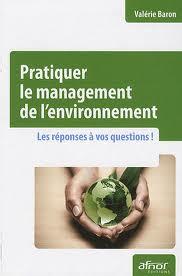Couverture d'ouvrage: Pratiquer le management de l'environnement