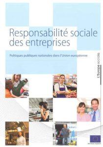 Couverture d'ouvrage: Responsabilité sociale des entreprises