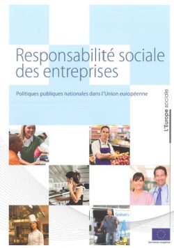 Couverture d'ouvrage : Responsabilité sociale des entreprises