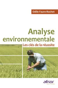 Couverture d'ouvrage : Analyse environnementale