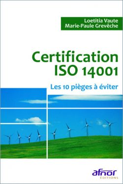 Couverture d'ouvrage: Certification ISO 14001