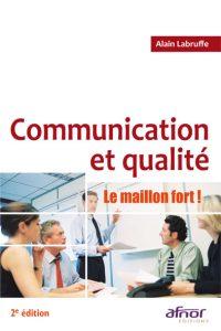 Couverture d'ouvrage: Communication et qualité