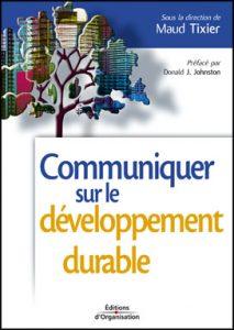 Couverture d'ouvrage: Communiquer sur le développement durable