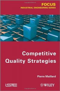 Couverture d'ouvrage : Competitive Quality Strategies