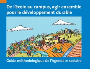 Couverture d'ouvrage: De l'école au campus, agir ensemble pour le DD