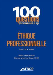 Couverture d'ouvrage: Ethique professionnelle