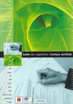 Guide des organismes d'analyse sociétale