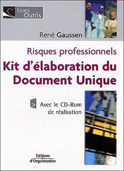 Risques professionnels – Kit d'élaboration du Document Unique