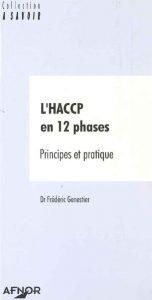 Couverture d'ouvrage: L'HACCP en 12 phases