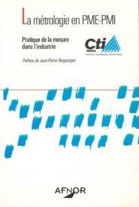 Couverture d'ouvrage: La métrologie en PME/PMI