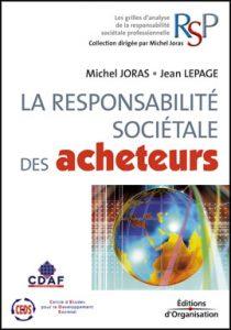 Couverture d'ouvrage: La responsabilité sociétale des acheteurs