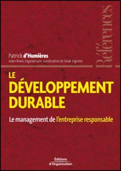 Le Développement durable : le management de l'entreprise responsable