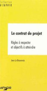 Couverture d'ouvrage: Le contrat de projet