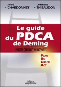 Couverture d'ouvrage : Le guide du PDCA de Deming