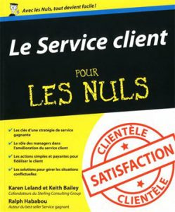Couverture d'ouvrage: Le service client pour les nuls