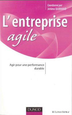 Couverture d'ouvrage: L'entreprise agile