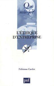 Couverture d'ouvrage: L'éthique d'entreprise