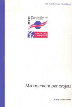 Couverture d'ouvrage: Management par projet