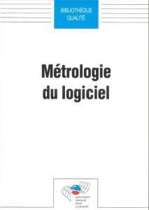 Couverture d'ouvrage: Métrologie du logiciel