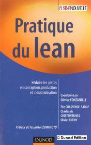 Couverture d'ouvrage: Pratique du lean