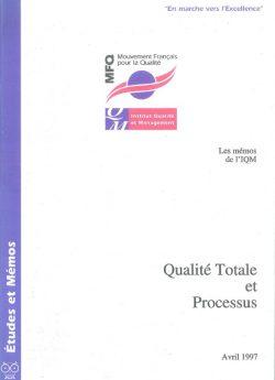 Couverture d'ouvrage: Qualité totale et processus