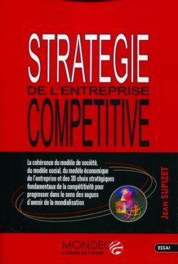 Couverture d'ouvrage: Stratégie de l'entreprise compétitive