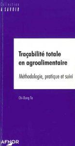Couverture d'ouvrage: Traçabilité totale en agroalimentaire