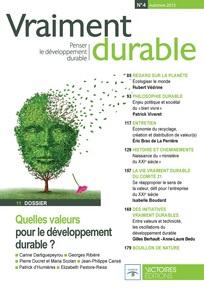 Couverture d'ouvrage: Vraiment durable 3