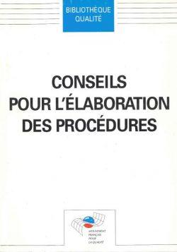 Conseils pour l'élaboration des procédures