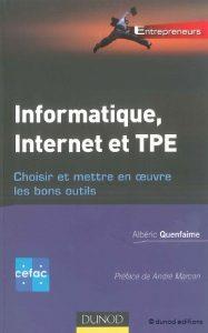 Couverture d'ouvrage: Informatique, internet et TPE