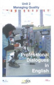 Couverture d'ouvrage : Professional Dialogues in English