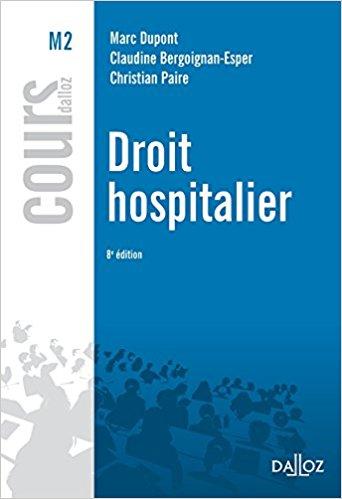 Couverture d'ouvrage: Droit Hospitalier