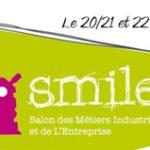 20/03/2018 au 22/03/2018 > Évènement Partenaire >Salon Tous In'Dustrie, SMILE et les Olympiades des Métiers à Andelnans (90)