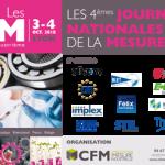 03/10 et 04 /10 2018 : Les Journées de la Mesure 2018 du le Collège Français de Métrologie ( CFM) à Lyon