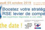 FORUM RSE jeudi 3 octobre 2109 à la Maison de l'Economie