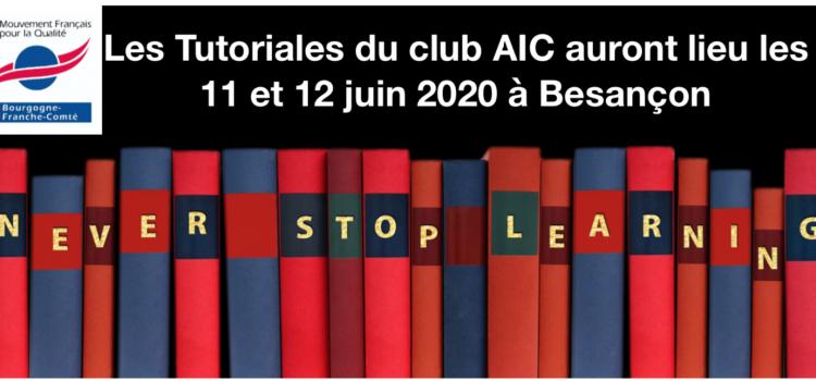 Les Tutoriales…En route vers l'édition 2020 !