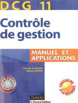 Manuel d'application : Contrôle de gestion