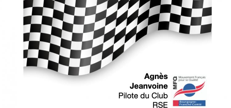 """Dans la série """"les pilotes restent dans la course"""" discussion avec Agnès Jeanvoine, pilote du Club RSE"""