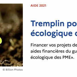 Webinaire – Présentation du dispositif TREMPLIN par L'ADEME – 1 er avril à 11h