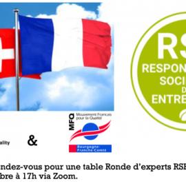Mois de la Qualité – La table ronde RSE avec SAQ, nos homologues suisses à lieu le 7 octobre !